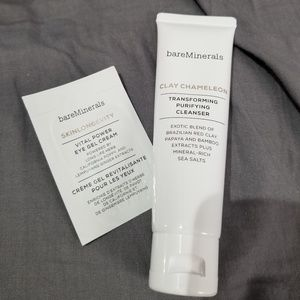 Bareminerals Clay Chameleon 1.7oz, with sample